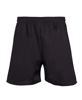 Black Breathable Sports Shorts
