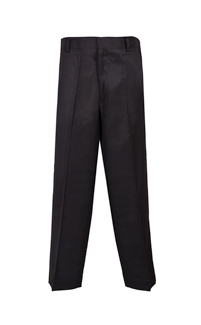 Uniform Direct - Full Elastic Back Boys Generous Fit Trousers in Black