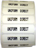 Printed Name Tapes (20 Iron-On) (FREE DELIVERY)